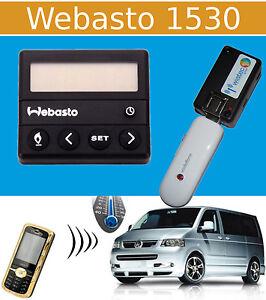 GSM Handy Fernbedienung für Standheizung (USB) Webasto 1530