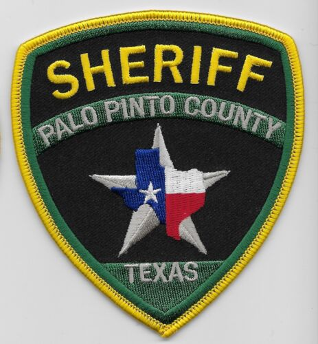 New Palo Pinto County Sheriff State Texas TX patch