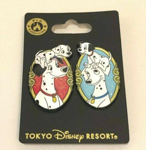 Disney Tokyo Pin 101 Dalmatians 2pins Set Tokyo Disneyland Japan