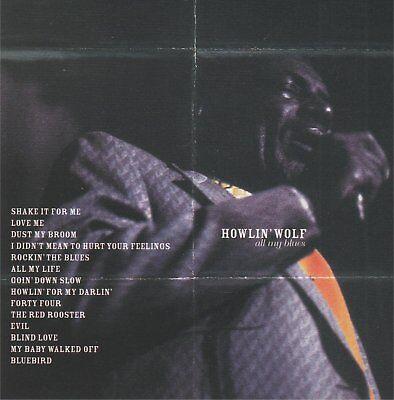 HOWLIN' WOLF - All my blues - CD album
