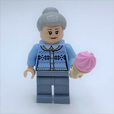 LEGO Aunt May Spider-Man Super Hero Minifigure Minifig fig 76115