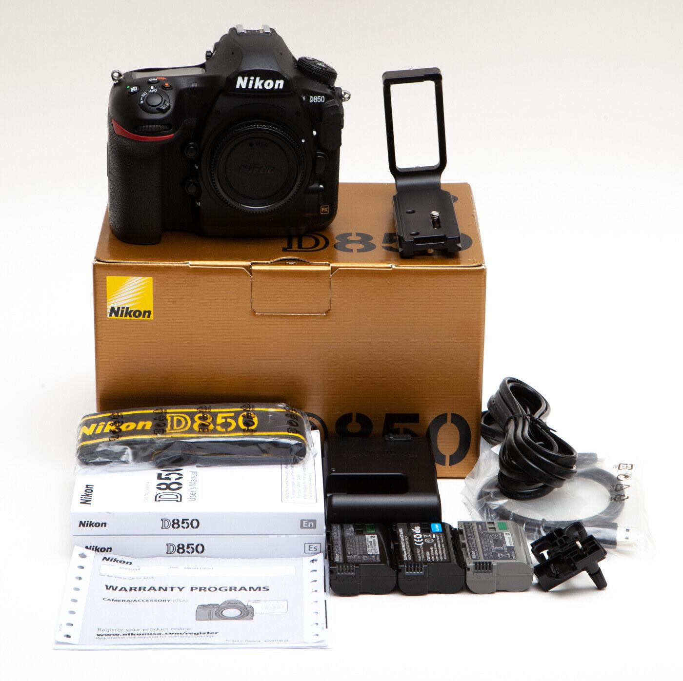 Nikon D D850 45.7MP Digital SLR Extras Excellent Camera USA Model  - $2,249.00