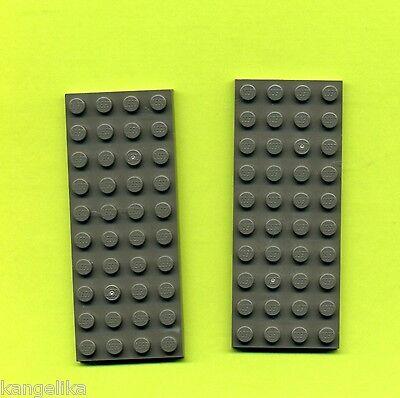 LEGO 3030 GRUNDPLATTE BAUPLATTE GRAU OLDDKGRAY 4 X 10 2 ST CK RITTERBURG