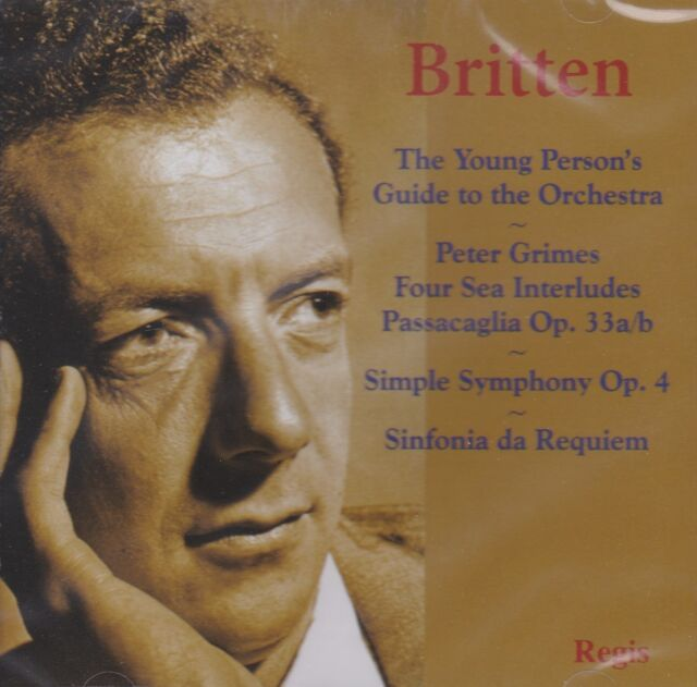 [NEW] CD: BRITTEN: THE YOUNG PERSON'S GUIDE TO THE ORCHESTRA