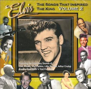Elvis-Presley-SONGS-THAT-INSPIRED-THE-KING-Vol-2-NEW-SEALED-31-track-CD