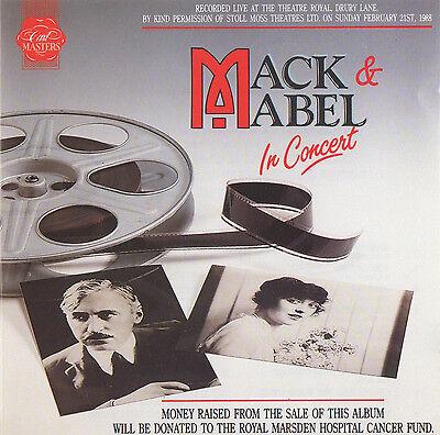 MACK & MABEL - LIVE IN CONCERT - GEORGE HEARN / GEORGIA BROWN ETC.- RARE LIVE CD