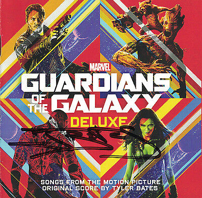 Guardians Of The Galaxy Deluxe 2 Cd Soundtrack Tyler Bates Autographed Signed