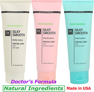Best Natural Lotion (Body-Hand-Foot)***Dr's Formula for Dry, itchy, Cracked (Best Moisturizer For Dry Cracked Hands)