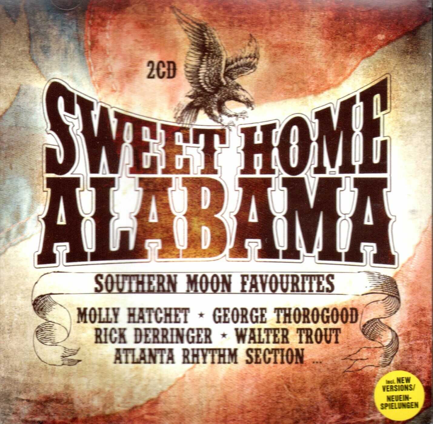 VA - Sweet Home Alabama - Southern Moon Favourites 2CD Trout, Molly Hatchet....