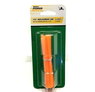 Rasenmäher Power Rake (Arnold Power Rake Replacement Line For DeThatching Lawns .170