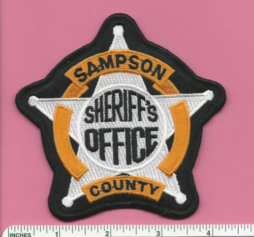 Sampson County NC State of North Carolina Sheriff Law Enforcement Police Patch