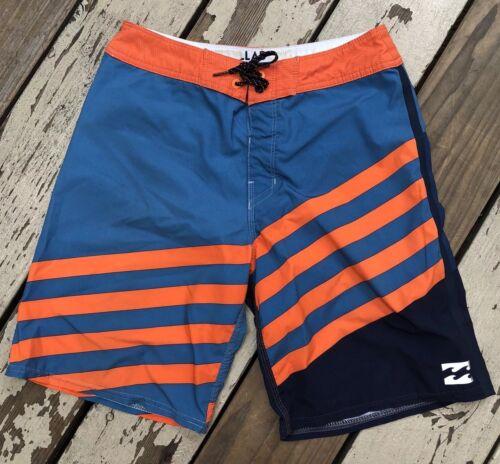 Billabong Surf Herren Platin X Stretch Surfbrett Shorts Boxershorts Größe 27