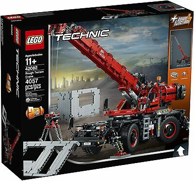 Lego Technic 42082 Rough Terrain Crane - 4,057 pcs!! 39 x 18 in! 2 in 1 NEW
