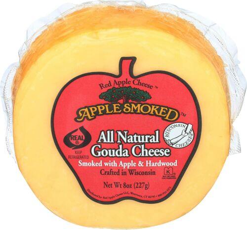 Apple Smoked Cheese Co, Gouda 8 Ounce