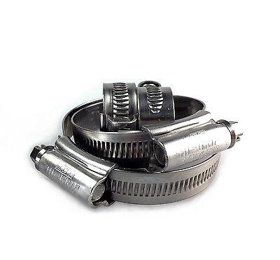 jcs hi grip JCS® Stainless Steel Hose Clips Pipe Clamps Marine Grade Hi-Grip