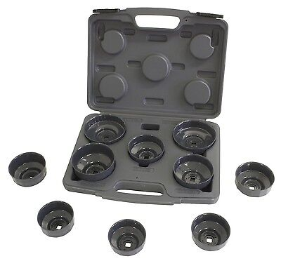 Lisle 10 Pc. Oil Filter Wrench End Cap Socket Set 61450 - Lisle Socket Wrench