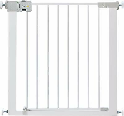 ✅Safety 1st Secure Tech Simply Close Metal ✅Baby Child Stair Gate Pet Gate White