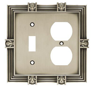 Betsy fields design 64465 Pineapple Single Toggle Switch/Duplex Outlet Wall Plat ()