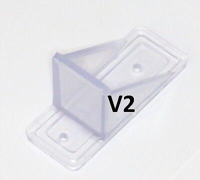 Mini Roof Guard Snow Guard Prevent Sliding Ice Snow Stop Buildup Plastic Acrylic