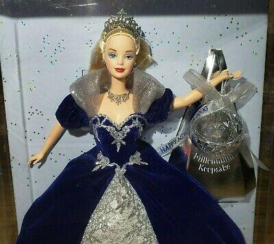 Mattel Barbie Millenium Keepsake Princess Special Edition 2000 Doll Blue Gown  Barbie Blue Princess Doll