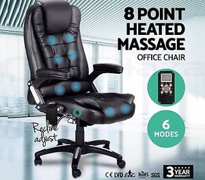 8 Point Massage Executive Office Computer Chair Heated Recliner Perth Perth City Area Preview