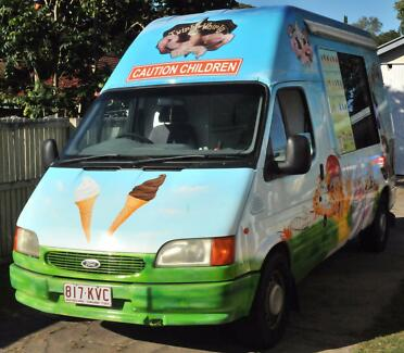 Soft Serve Ice Cream Van for sale - Brisbane