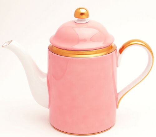 Renaissance Peach by Fitz and Floyd china Coffee Pot with Lid 8""
