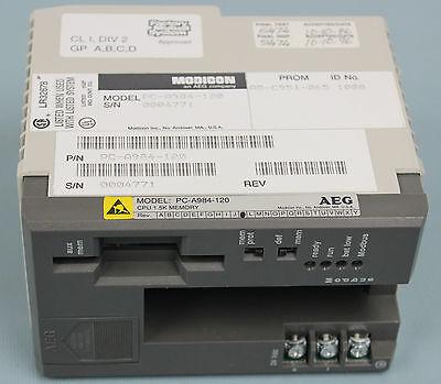 Modicon Aeg Model Pc-a984-120 Cpu