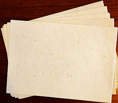 Handmade Paper, Himalayan Lokta A4 Natural Paper -Pack of 25 sheets