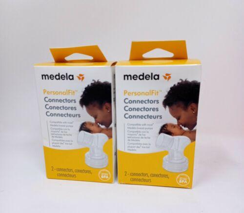 Medela PersonalFit Connectors 2 Count NEW - LOT of 2 - Total 4 Connectors
