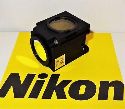 Nikon B-3a Fluorescent Microscope Filter Cube For E400 600 Te200300