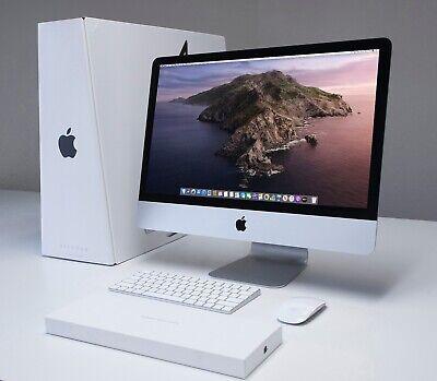 "Apple iMac 21.5"" 4K 3.3 GHz Core i7 256GB Apple SSD 16GB RAM Iris GFX 2015 FAST"