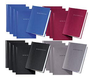 15 Stück Bewerbungsmappen von Pagna Typ START / 2-teilig  - farblich sortiert
