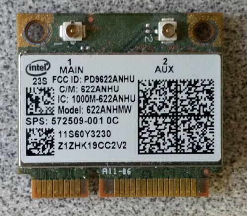 Lenovo Thinkpad X201 Intel Centrino Advanced-N 6200 WiFi Wireless Card 60Y3231
