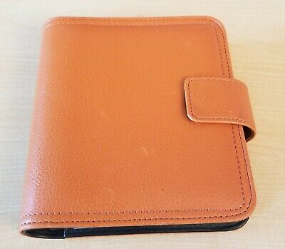 Franklin Covey 365 Size 3 Clutch Planner Binder Orange With Inserts