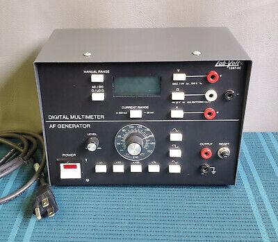 Lab-volt Digital Multi-meter Tester Function Generator Model 1247 1247-00