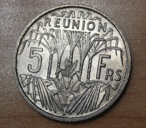 1955 Reunion 5 Francs