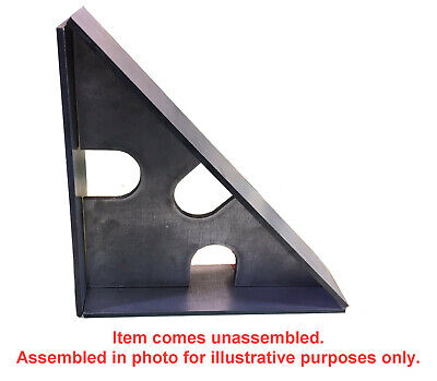 8 X 8 X 2.5 Inch Steel Welding Clamping Square 90 45 Degrees Fixturing 7ga 316