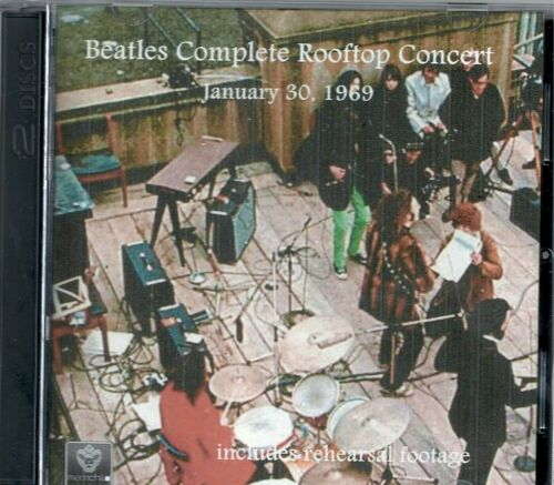 The Beatles Complete Rooftop Concert DVD and CD combo with extra studio footage