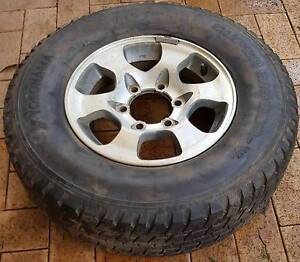 Spare wheel for Mitsubishi Pajero or similar+wheel cover Blacktown Blacktown Area Preview