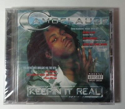Recordings Cd Album - Keepin It Real by Camoflauge 2002 CD Rap Album Pure Pain Records, SEALED