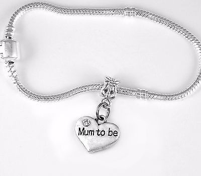 Mum to Be Bracelet Mom to be bracelet best Jewelry gift European new (Best Mom To Be Gifts)