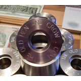 """Professional Coin Ring Center Punch Set 1 3/4""""    Made 303 Stainless W/4 Punches"""