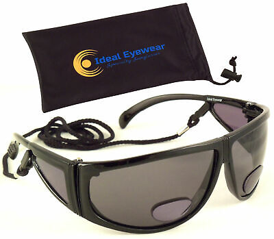 aaa2a33d6732 Bifocal Sunglasses Polarized Fishing Tinted Reading Glasses Sun Readers  +1.75
