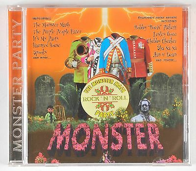 Rock N Roll Halloween Music (The Monster Mash Rock N Roll Party CD 2000 Halloween)