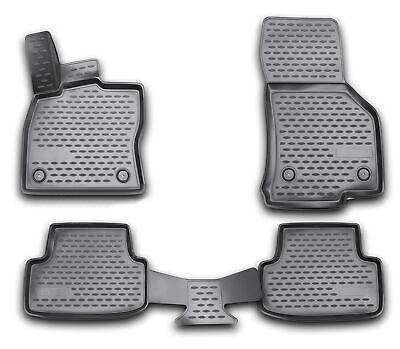 Gummimatten für VW Golf 7 ab 2013- Gummi Fußmatten 4 teilig 3D Schalen Qualität