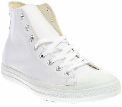 Converse All Star Specialty Hi Leather Lace Up Sneakers - White - Mens](Specialty Converse)