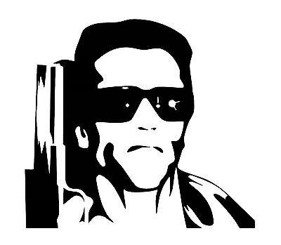 Terminator vinyl car Decal / Sticker