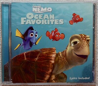 Finding Nemo: Ocean Favorites by Disney Music Inspired By Movie CD 2003 Disney