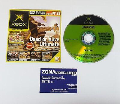 DISCO DE DEMOS Nº35, DOA ULTIMATE, ROCKY, FIFA 2005, CLUB LUCHA..  XBOX, PAL-ESP segunda mano  Racó de Santa Llucía
